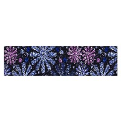 Pixel Pattern Colorful And Glittering Pixelated Satin Scarf (oblong)
