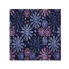 Pixel Pattern Colorful And Glittering Pixelated Small Satin Scarf (square)