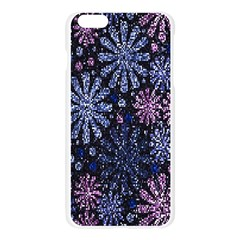 Pixel Pattern Colorful And Glittering Pixelated Apple Seamless iPhone 6 Plus/6S Plus Case (Transparent)