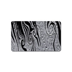 Abstract Swirling Pattern Background Wallpaper Magnet (name Card)