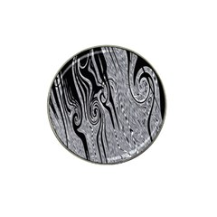 Abstract Swirling Pattern Background Wallpaper Hat Clip Ball Marker (4 pack)