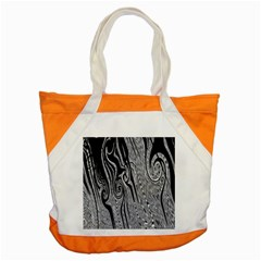 Abstract Swirling Pattern Background Wallpaper Accent Tote Bag