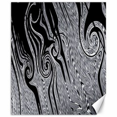 Abstract Swirling Pattern Background Wallpaper Canvas 8  x 10