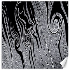 Abstract Swirling Pattern Background Wallpaper Canvas 16  x 16