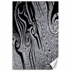 Abstract Swirling Pattern Background Wallpaper Canvas 24  X 36