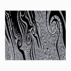 Abstract Swirling Pattern Background Wallpaper Small Glasses Cloth (2-Side)
