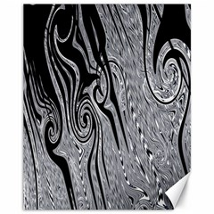 Abstract Swirling Pattern Background Wallpaper Canvas 11  X 14