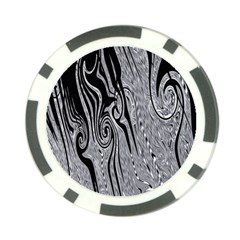 Abstract Swirling Pattern Background Wallpaper Poker Chip Card Guard