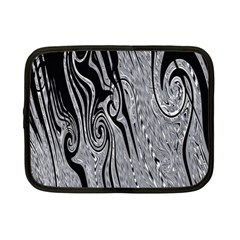 Abstract Swirling Pattern Background Wallpaper Netbook Case (small)