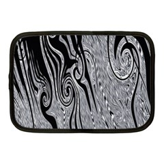 Abstract Swirling Pattern Background Wallpaper Netbook Case (medium)