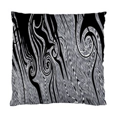 Abstract Swirling Pattern Background Wallpaper Standard Cushion Case (One Side)