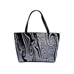 Abstract Swirling Pattern Background Wallpaper Shoulder Handbags