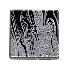 Abstract Swirling Pattern Background Wallpaper Memory Card Reader (square)