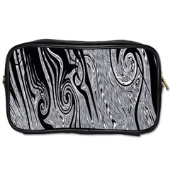 Abstract Swirling Pattern Background Wallpaper Toiletries Bags