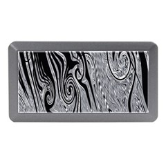 Abstract Swirling Pattern Background Wallpaper Memory Card Reader (mini)
