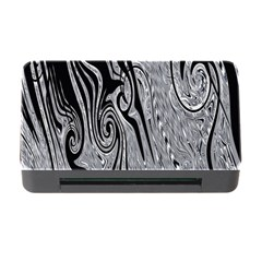Abstract Swirling Pattern Background Wallpaper Memory Card Reader with CF