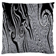 Abstract Swirling Pattern Background Wallpaper Large Cushion Case (One Side)