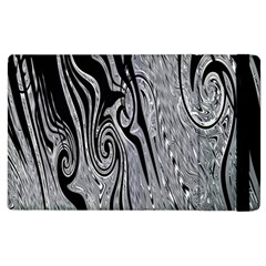 Abstract Swirling Pattern Background Wallpaper Apple iPad 3/4 Flip Case