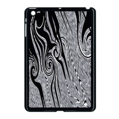 Abstract Swirling Pattern Background Wallpaper Apple iPad Mini Case (Black)