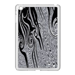 Abstract Swirling Pattern Background Wallpaper Apple Ipad Mini Case (white)