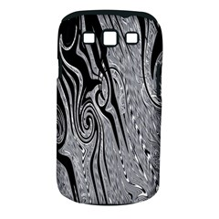 Abstract Swirling Pattern Background Wallpaper Samsung Galaxy S III Classic Hardshell Case (PC+Silicone)