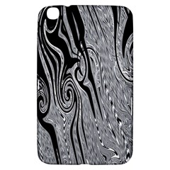 Abstract Swirling Pattern Background Wallpaper Samsung Galaxy Tab 3 (8 ) T3100 Hardshell Case