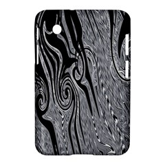 Abstract Swirling Pattern Background Wallpaper Samsung Galaxy Tab 2 (7 ) P3100 Hardshell Case