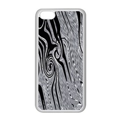 Abstract Swirling Pattern Background Wallpaper Apple Iphone 5c Seamless Case (white)