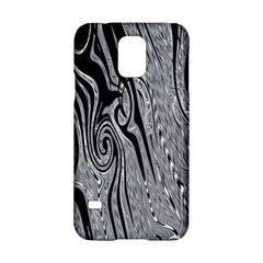 Abstract Swirling Pattern Background Wallpaper Samsung Galaxy S5 Hardshell Case