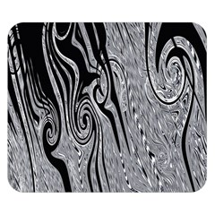 Abstract Swirling Pattern Background Wallpaper Double Sided Flano Blanket (small)