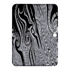 Abstract Swirling Pattern Background Wallpaper Samsung Galaxy Tab 4 (10.1 ) Hardshell Case