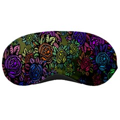 Grunge Rose Background Pattern Sleeping Masks