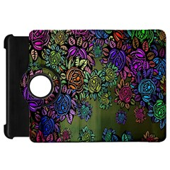 Grunge Rose Background Pattern Kindle Fire Hd 7