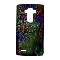 Grunge Rose Background Pattern LG G4 Hardshell Case