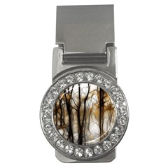Fall Forest Artistic Background Money Clips (CZ)
