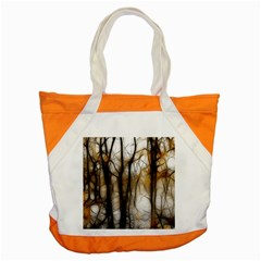 Fall Forest Artistic Background Accent Tote Bag