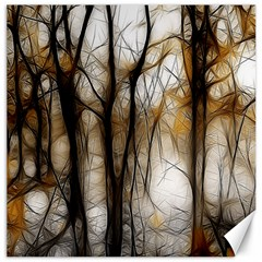Fall Forest Artistic Background Canvas 20  x 20