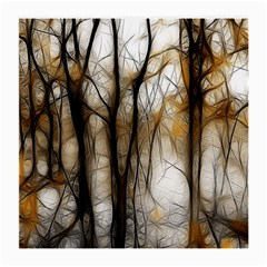 Fall Forest Artistic Background Medium Glasses Cloth (2-Side)