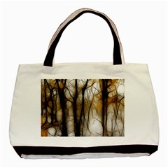 Fall Forest Artistic Background Basic Tote Bag (two Sides)