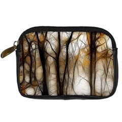 Fall Forest Artistic Background Digital Camera Cases