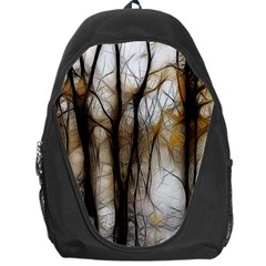 Fall Forest Artistic Background Backpack Bag