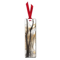 Fall Forest Artistic Background Small Book Marks