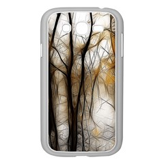 Fall Forest Artistic Background Samsung Galaxy Grand DUOS I9082 Case (White)