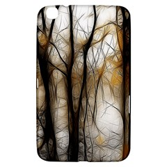 Fall Forest Artistic Background Samsung Galaxy Tab 3 (8 ) T3100 Hardshell Case