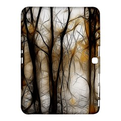 Fall Forest Artistic Background Samsung Galaxy Tab 4 (10.1 ) Hardshell Case
