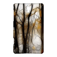 Fall Forest Artistic Background Samsung Galaxy Tab S (8 4 ) Hardshell Case