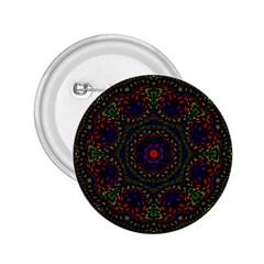 Rainbow Kaleidoscope 2.25  Buttons
