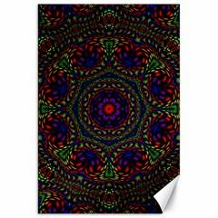 Rainbow Kaleidoscope Canvas 20  X 30