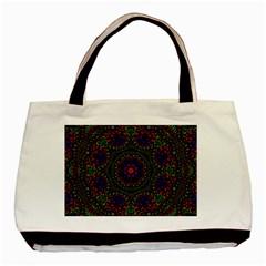 Rainbow Kaleidoscope Basic Tote Bag (Two Sides)