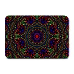 Rainbow Kaleidoscope Plate Mats